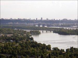 Сооружение Подольско-Воскресенского моста в Киеве задерживается