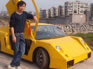 Китаец основал авто за 3 тыс долларов США