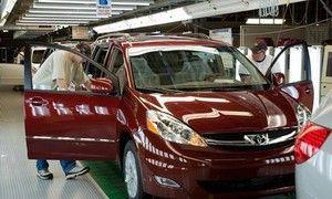 Тойота повысила размер изготовления до 8,15 млрд автомашин