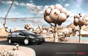 Прибыль Хонда Motor повысилась на 96% в I месяце