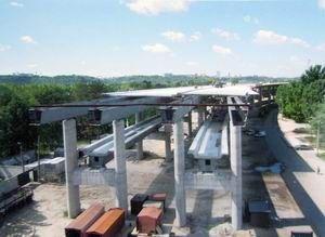 Подольско-Воскресенский мост завершат в 2013 году