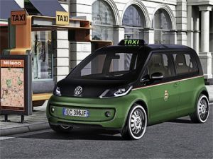 В городе Москва сделают городскую службу электро-такси