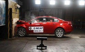 Свежий Buick Regal обрел 5 звезд от C-NCAP