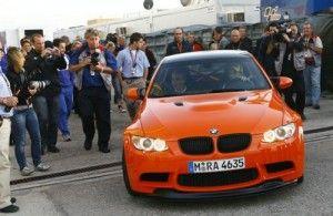 БМВ М3 GTS возникла на Nurburgring