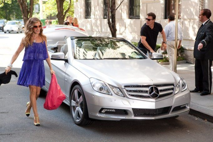 Mercedes Aims For The Ladies With Sex And The City II.