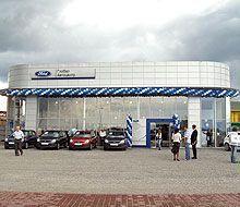 В Закарпатье раскрылся классический автомобильный салон Форд