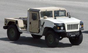 Знаменитый Humvee прошел редизайн