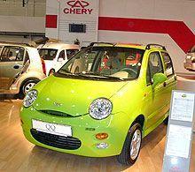 В КНР за 1-ое семестр реализовано не менее 200 000 авто Чери