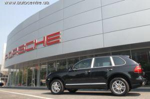 На Украине раскрылись 2 свежих автомобильного салона Порше