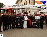 Пожарный Мерседес для Ватикана