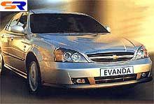 На Украине начнутся реализации Шевроле Evanda 2,5