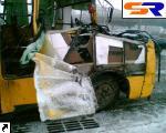 """На Петровке маршрутка врезалась в """"ЗИЛ"""": 1 человек умер, 6 доставлены в больницу."""