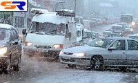 Снег объединял автодороги Франции