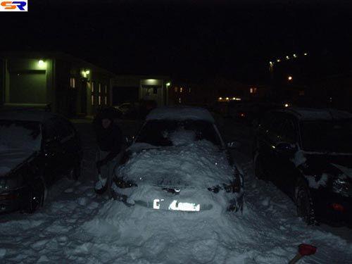 Зимняя шутка надвладельцем авто. ФОТО