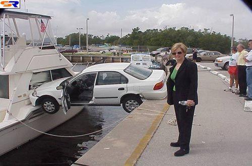 Самые лучшие женщины-водители 2005 года. ФОТО