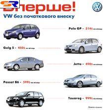 Уникальные критерии кредитования на машины Фольксваген от «Автохаус Киев»
