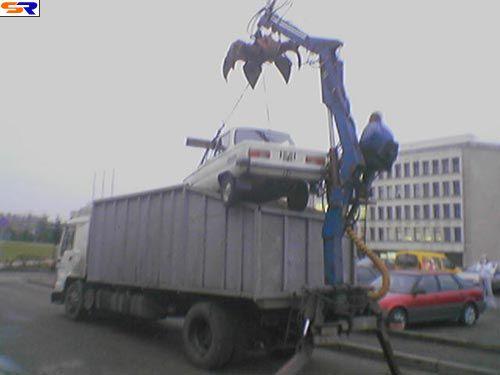 Экспорт металлолома. ФОТО