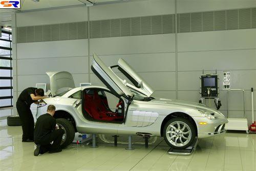 Как создают дорогостоящие автомобиля. ФОТО
