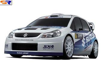 Сузуки SX4 WRC Концепт