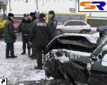 ДТП на Бульварном шоссе: импортную машину порвало на части, автолюбитель умер. ФОТО.