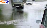В городе Москва потопило Рублевское шоссе