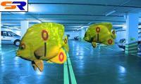 17 авто утопли в подземной автомобильной стоянке