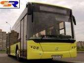 """Пролаз продемонстрировал первый на Украине 18-метровый составленный троллейбус ЛАЗ-Е291D1 """"ЕlectroLAZ"""""""