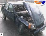 Осуществив ДТП, опьяневший автолюбитель отказался от собственного авто. ФОТО.