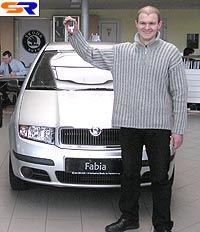 «Еврокар» дал авто Шкода Фабия победителю голосования в состязании «Автомобиль года»