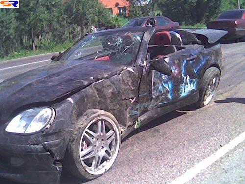 Машину плачевно. ФОТО