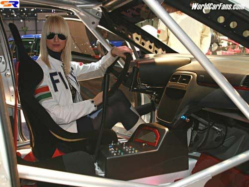 Женева 2006 Автошоу. Девушки иавтомобили. ФОТО. Часть 2
