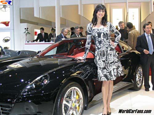 Женева 2006 Авто-шоу. Женщины иавтомобили. ФОТО. Часть 1