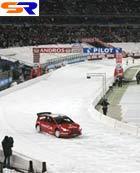 Лоэб на заводском Ситроен C4 WRC