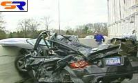 В Соединенных Штатах автолюбитель чудом уцелел после ужасной трагедии