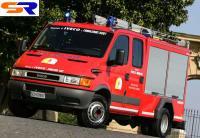 В подарок Архиепископу сообщили пожарный авто Iveco
