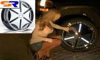 Dub Wheels продемонстрировала диски колес с LED-графикой
