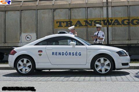 Сотрудники полиции кормят. ФОТО