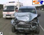 """На Броварском шоссе встретились 2 маршрутки и """"Opel"""", есть потерпевшие. ФОТО."""