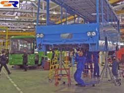 На Луцком автозаводе начато изготовление автобусов