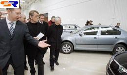 """Вице-президент В. Ющенко посетил """"Еврокар"""""""