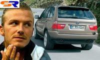 У Дэвида Бекхэма украли БМВ X5