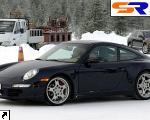 Вышли первые фото Порше 911 Targa