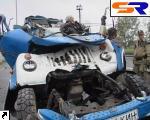 В Киеве встретились 2 грузового автомобиля, есть жертвы.