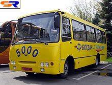 """В начале апреля изготовление автобусов """"Богдан"""" выросло на 65,7%, а реализации - на 43,8%"""