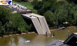 В КНР рухнул 200-метровый автомобильный мост