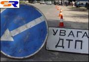 В центре Харькова под асфальт сорвался автобус
