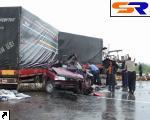 ДТП под Точно: встретились 5 авто, есть жертвы.