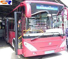 Херсонский «Анто-Рус» продемонстрировал автобус среднего класса