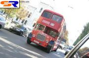На Московских улицах будут ездить трехэтажные автобусы