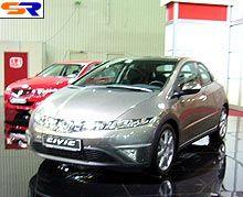 Хонда продемонстрировала на Украине новейшие машины